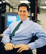 Michael Dell - founder of DELL Computer Corp.